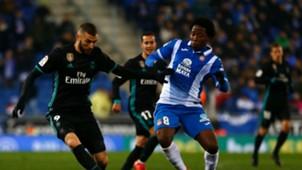 Carlos Sánchez & Benzema RC Espanyol vs Real Madrid Liga 270218