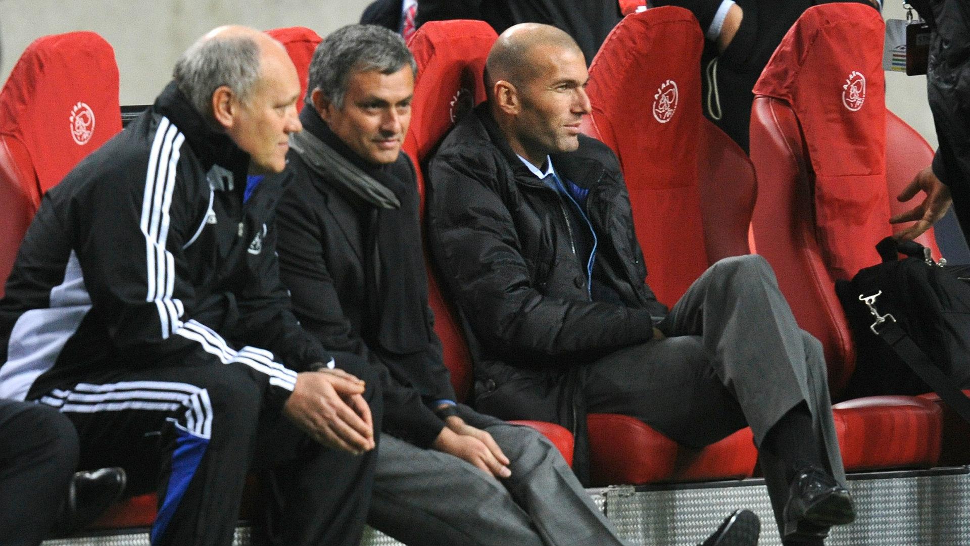 Jose Mourinho Ajax Champions League