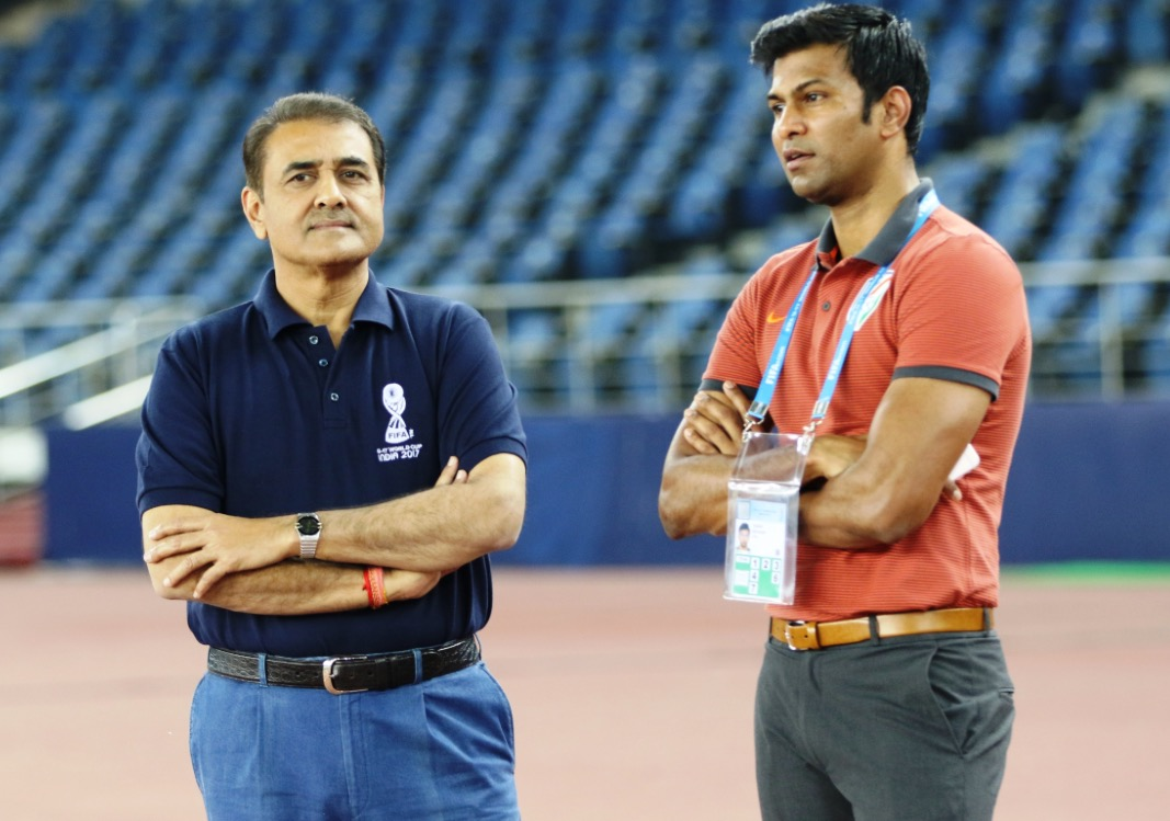 Praful Patel and Abhishek Yadav