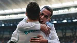 Lucas Vazquez Cristiano Ronaldo Real Madrid