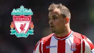 Xherdan Shaqiri Stoke City Liverpool