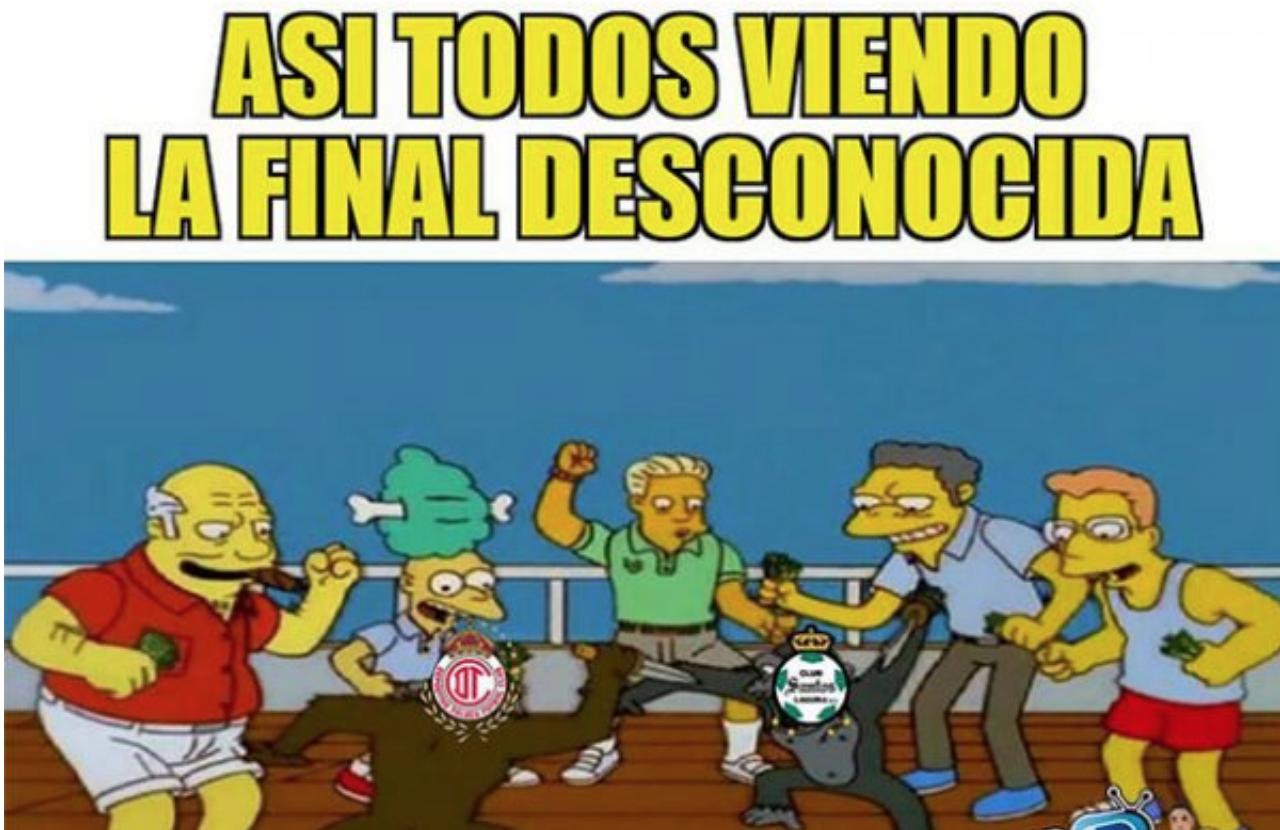Memes Toluca vs Santos
