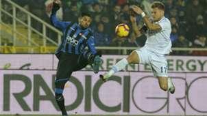 Josè Palomino Ciro Immobile Atalanta Lazio Serie A