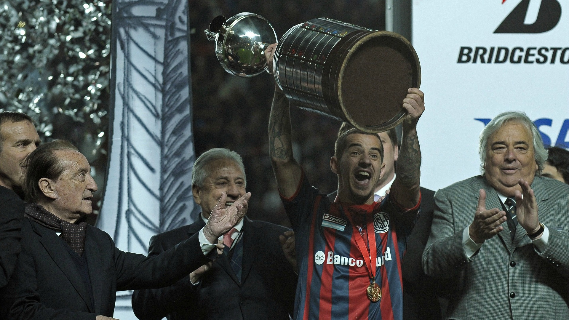 Leandro Romagnoli Libertadores 2014 San Lorenzo Nacional 130814