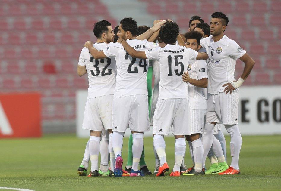 Al Zawra'a celebrate
