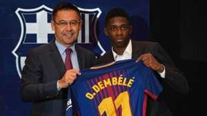 Bartomeu Ousmane Dembele Barcelona Unveiling