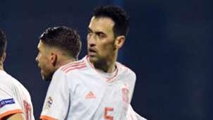 Busquets Espanha Nations League 15 11 2018