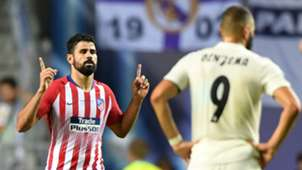Diego Costa Atletico Madrid Real Madrid
