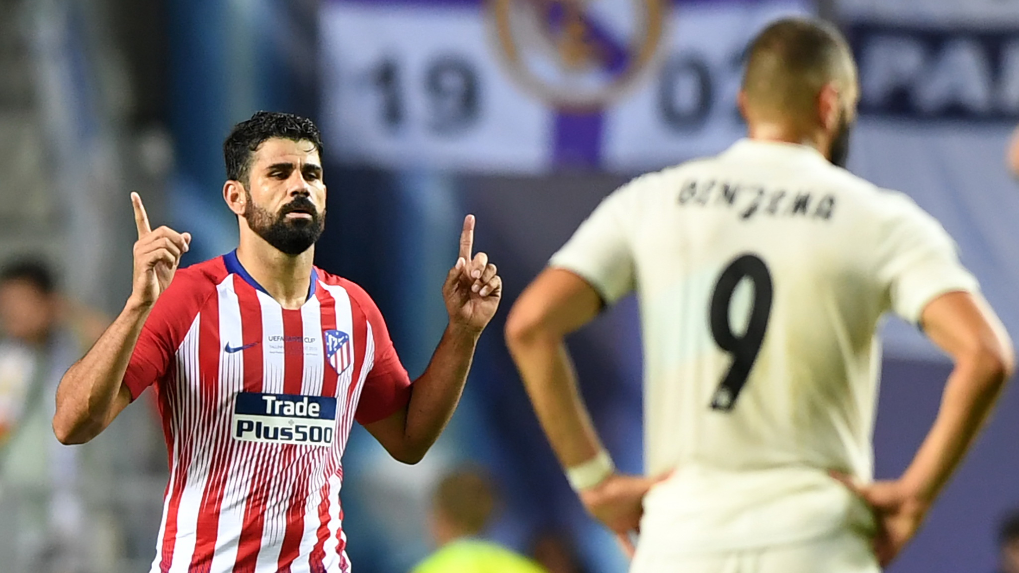 Diego Costa Atletico Madrid Real Madrid