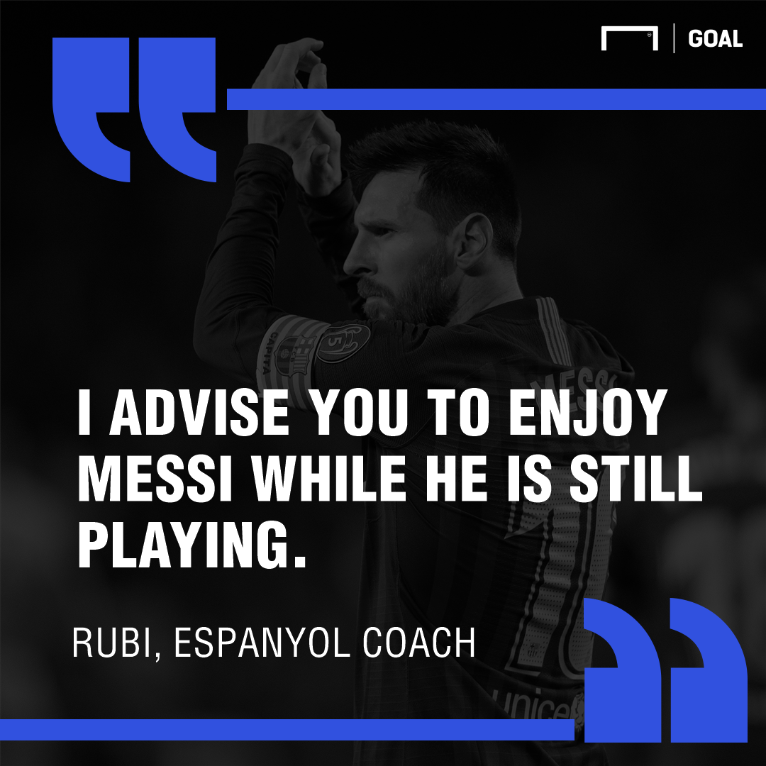 Rubi Messi quote PS