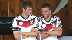 Thomas Müller Lukas Podolski