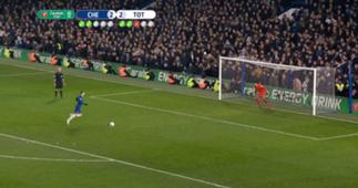 Jorginho FC Chelsea Elfmeter League Cup 24012019