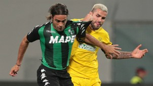 Alessandro Matri, Valon Behrami, Sassuolo, Udinese, Serie A, 25102017