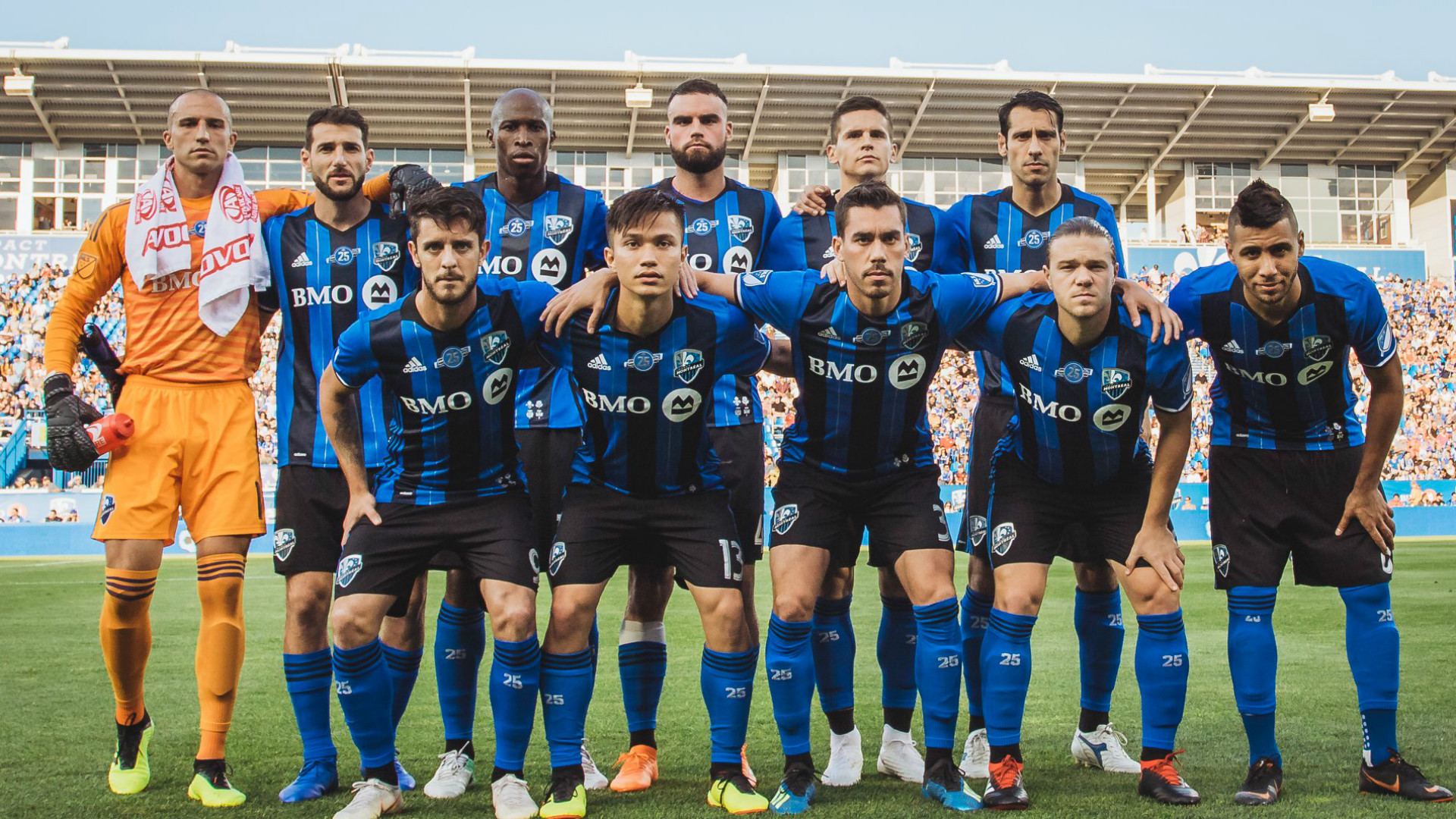 Montreal Impact MLS Team Photo 07302018