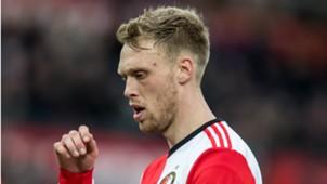 Nicolai Jörgensen, Feyenoord - ADO, Eredivisie 01282018