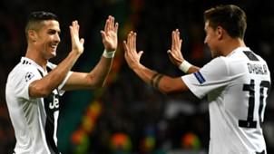 Cristiano Ronaldo Paulo Dybala Manchester United Juventus UEFA Champions League