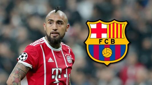 El Barcelona hace oficial el fichaje de Arturo Vidal  256b3ec5748