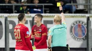 Kevin Blom, Wout Weghorst, AZ - Willem II, Eredivisie 11042017