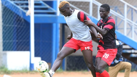 Harambee Stars defender David Cheche Ochieng.