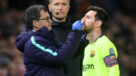 93c1ad72073a Barcelona news: 'Chris Smalling hit Lionel Messi like a train' - Ernesto  Valverde unhappy with Manchester United defender   Goal.com