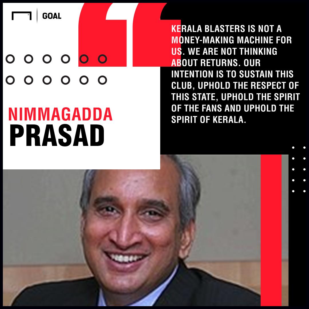 Nimmagadda Prasad Kerala Blasters