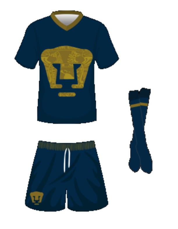 Pumas tercer uniforme Apertura 2018 Liga MX