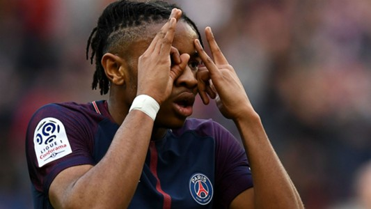 Christopher Nkunku PSG Metz Ligue 1 10032018