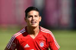 James Rodriguez Bayern München Training 12072017