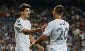 Morata Jesé Rodríguez Real Madrid