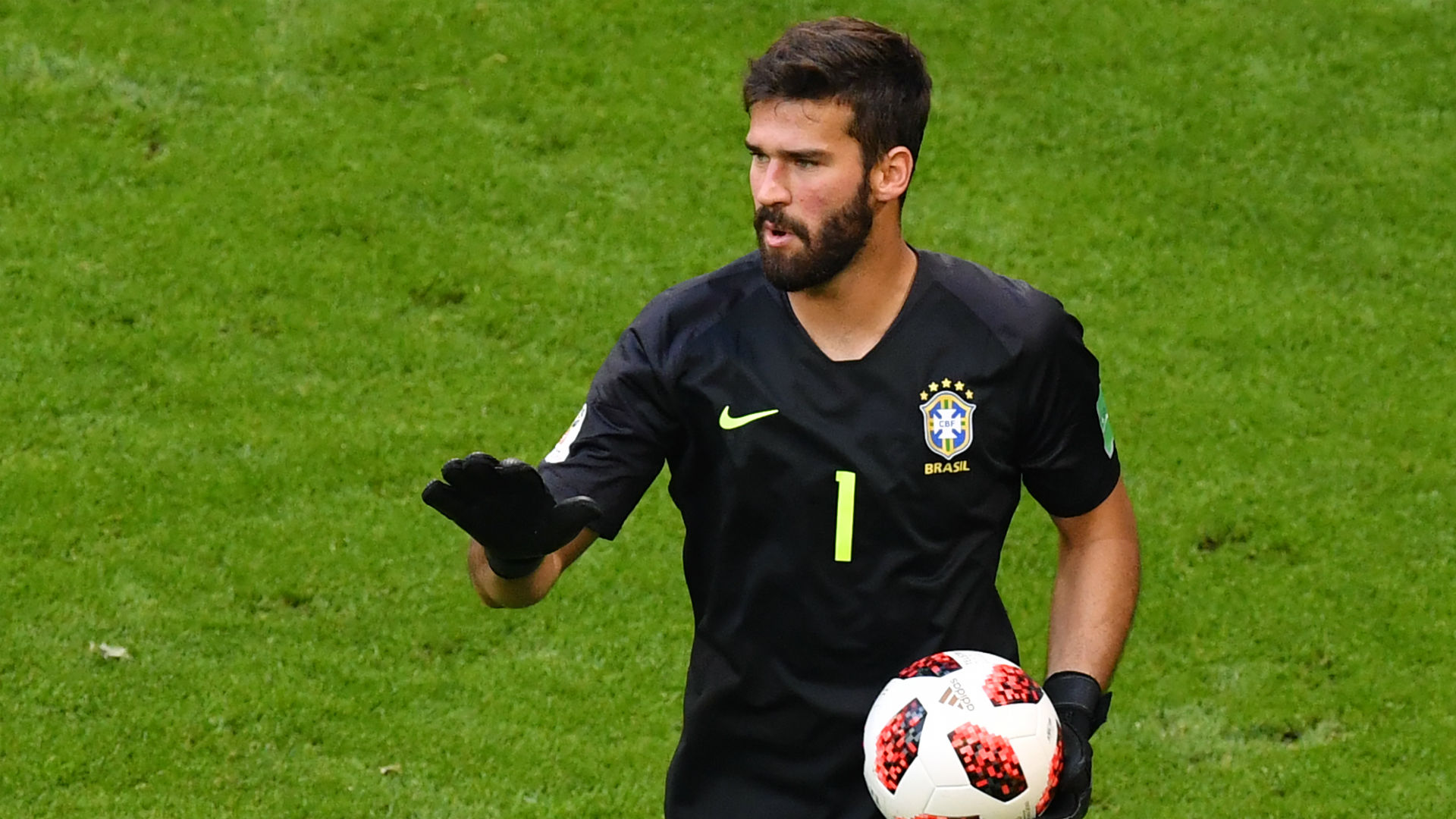 Alisson Brazil World Cup 2018