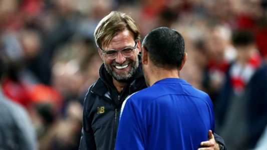 Jurgen Klopp Maurizio Sarri Liverpool Chelsea 26092018
