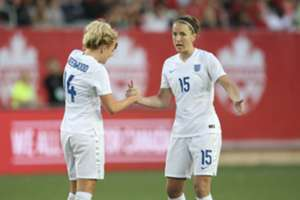 Alex Greenwood Casey Stoney Manchester United and England
