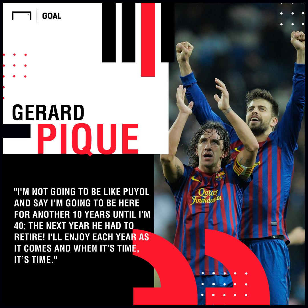 Gerard Pique Carles Puyol Barcelona PS