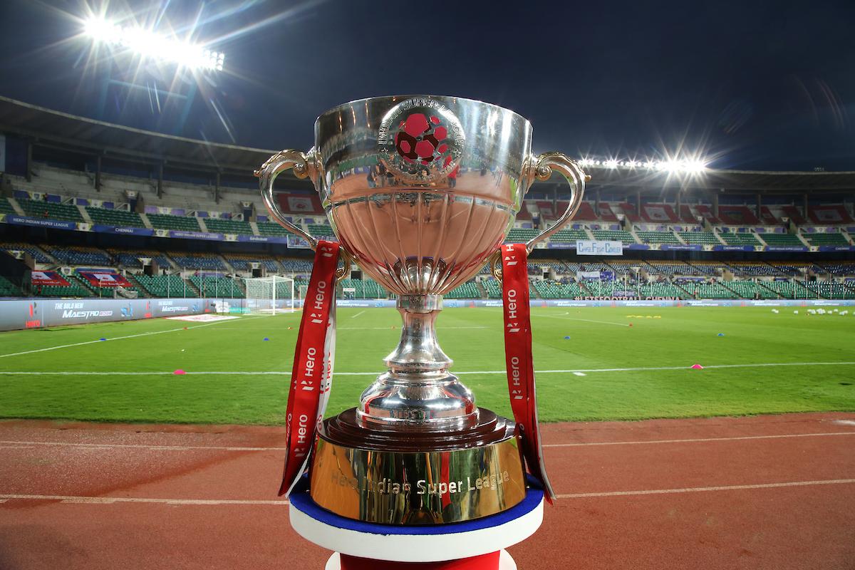 Chennaiyin FC Goa ISL trophy