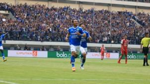 Atep Selebrasi Gol Persib Bandung Arema FC