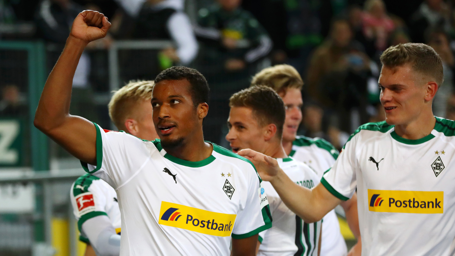 Allasane Plea Borussia Mönchengladbach 26092018