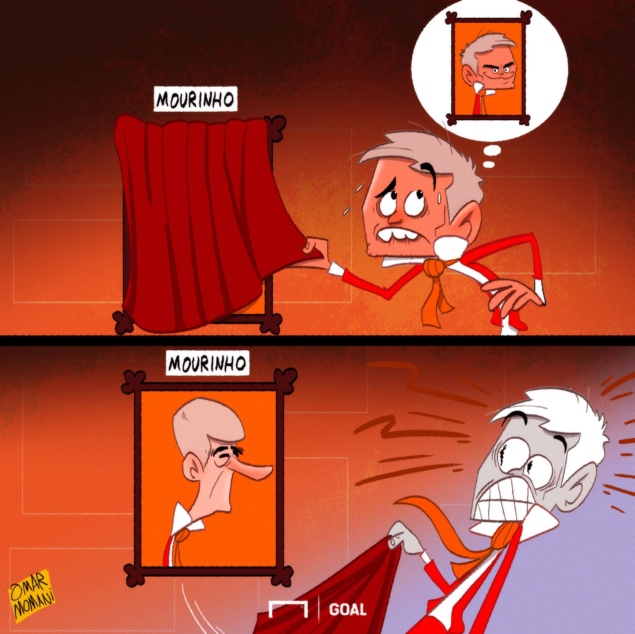 Jose Mourinho Arsene Wenger Cartoon