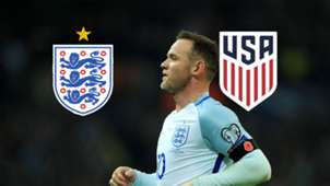England USA TV LIVE STREAM DAZN WAYNE ROONEY