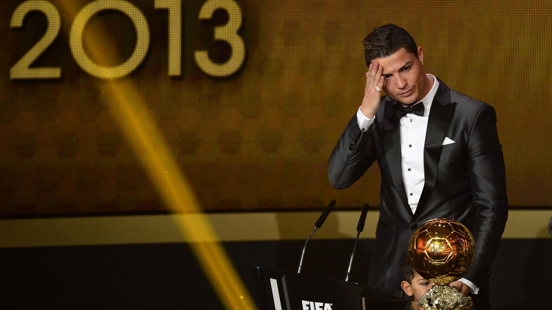 Cristiano Ronaldo 2013 Ballon d'Or