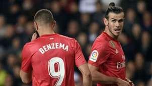 Gareth Bale Karim Benzema Real Madrid Valencia La Liga 2019