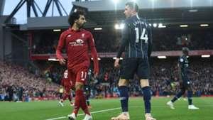 Liverpool Manchester City Salah Laporte 07102018