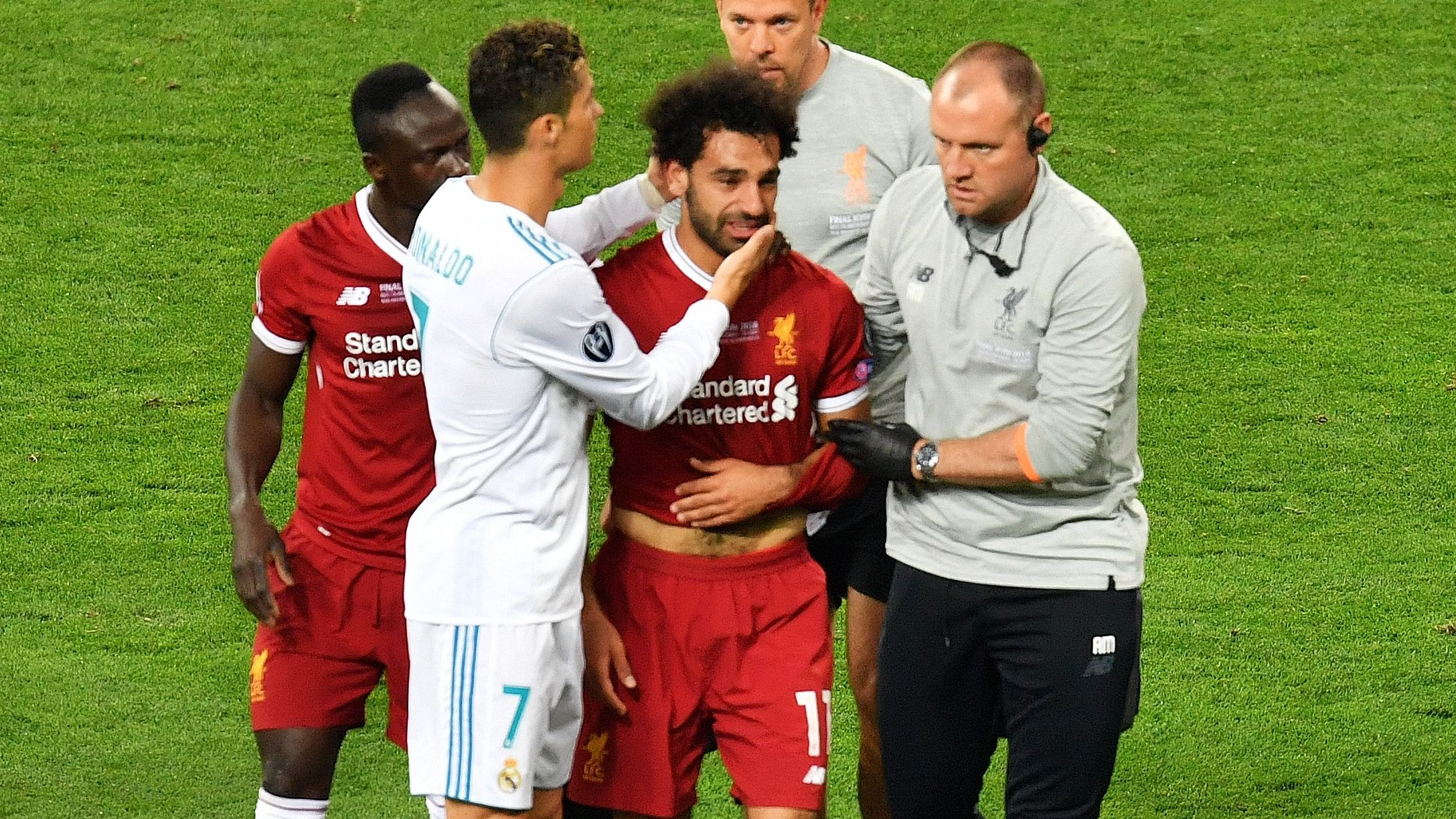 Cristiano Ronaldo Mohamed Salah Real Madrid Liverpool UCL
