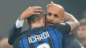 Luciano Spalletti Mauro Icardi Inter