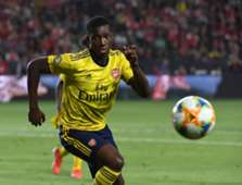 Eddie Nketiah of Arsenal