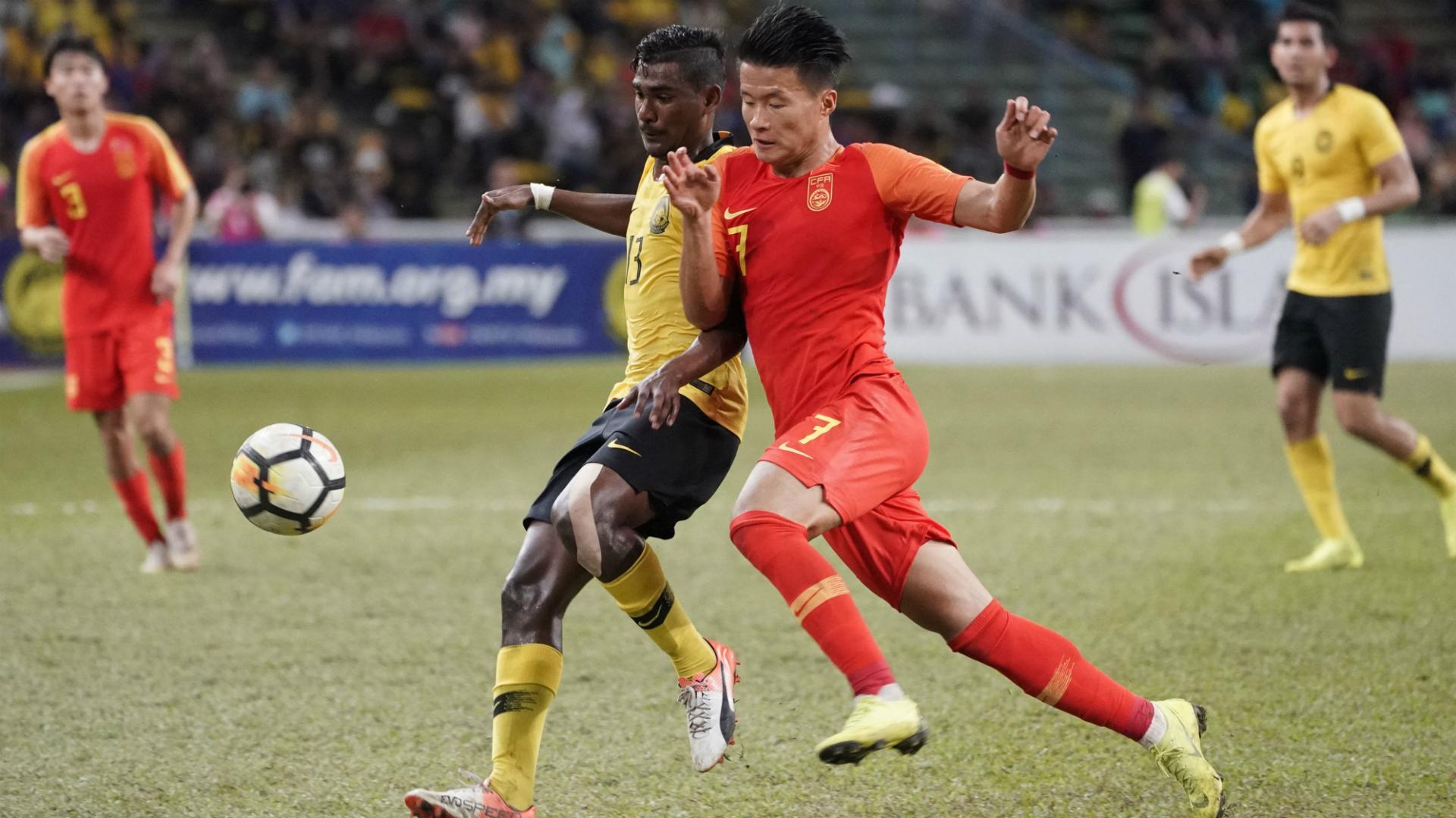 R. Dinesh, Malaysia U23 v China U23, AFC U23 Championship qualifier, 26 Mar 2019
