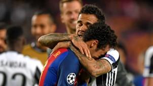 Dani Alves Juventus Neymar Barcelona Champions League
