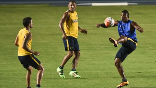 Boca Juniors training