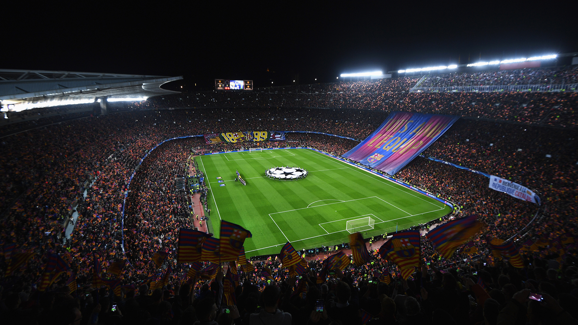 Camp Nou Barcelona PSG Champions League - Goal.com