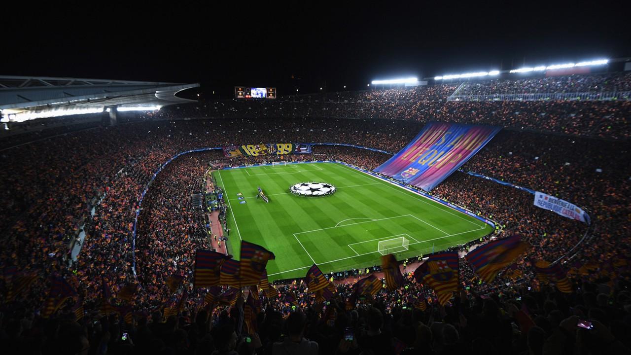 Camp Nou Barcelona PSG Champions League