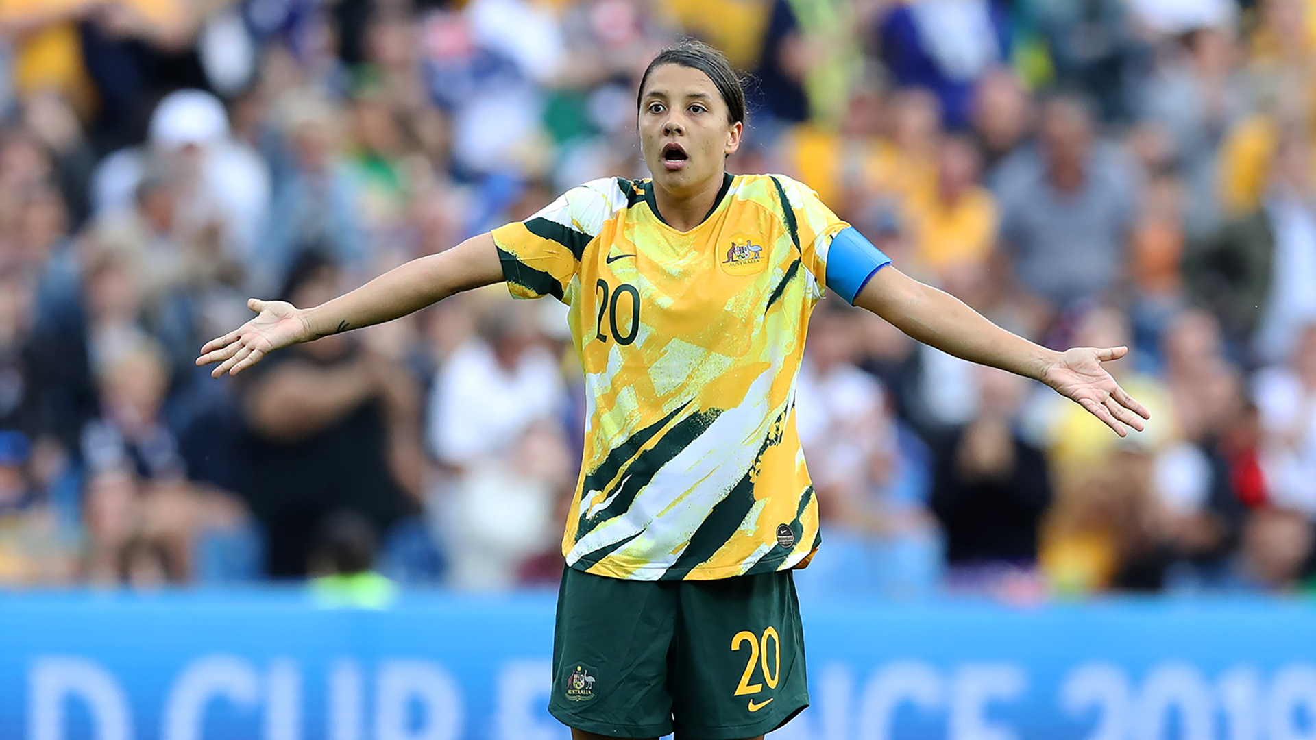 Sam Kerr hits back at Australia critics after win over Brazil